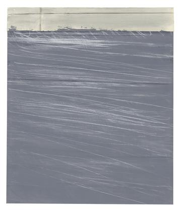 Cy Twombly Untitled 1969-71 acrylic and crayon on...