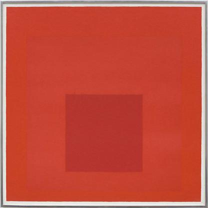 Josef Albers Study for Homage to the Square 1967 o...