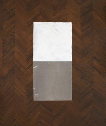 Carl Andre Magnesium Inside-Outside Piece 1969 mag...