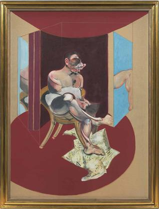 Francis Bacon Study of George Dyer 1971 oil on can...