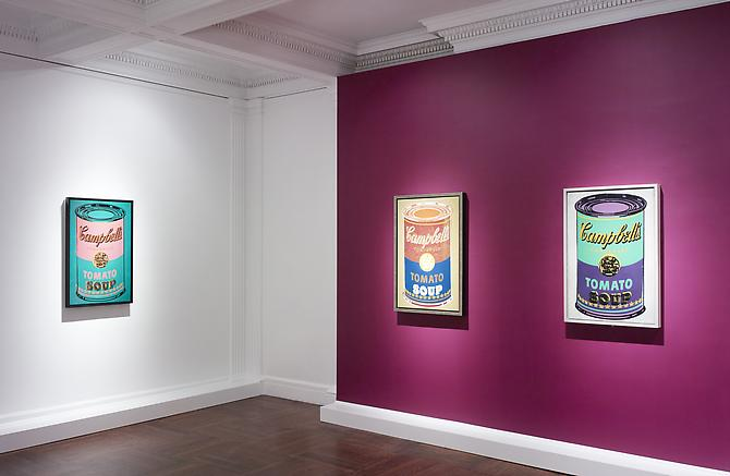 April 21 - June 11, 2011 - Colored Campbell's Soup Cans - Andy Warhol - Exhibitions