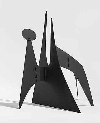 Alexander Calder, Untitled (maquette), c. 1950, 21...