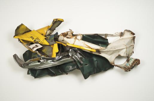 John Chamberlain Honest 508 1973-74 painted and ch...