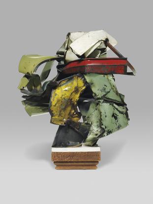 John Chamberlain Jo-So 1960 enamel and sheet metal...