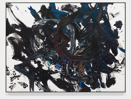 Choryo [Jumping Dragon] 1994 oil on canvas 76 x 10...