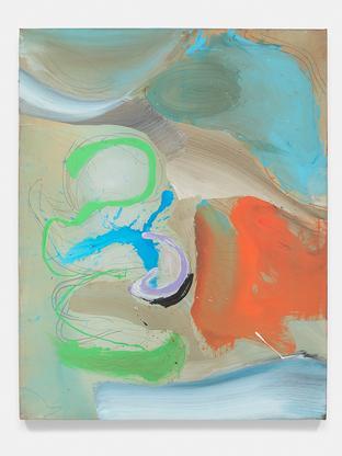 Ed Clark China Series 2000 acrylic on canvas 82 x...