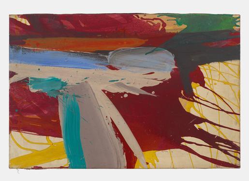 Ed Clark Untitled 1962 acrylic on canvas 20 x 30 i...