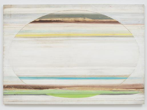 Ed Clark Untitled 1974-75 acrylic on canvas 57 1/4...