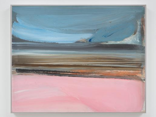 Ed Clark Untitled 1985 acrylic on canvas 24 x 30 i...