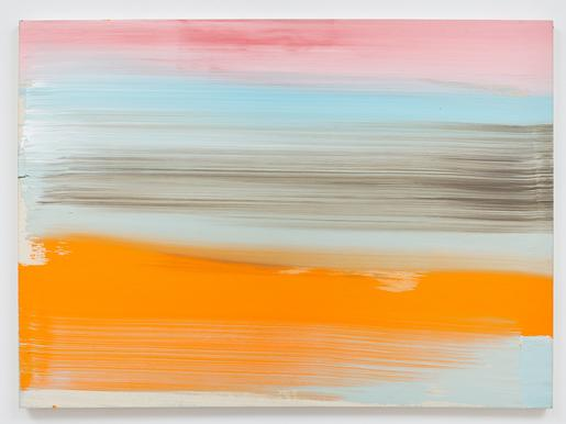Ed Clark Untitled 2007 acrylic on canvas 44 x 60 1...