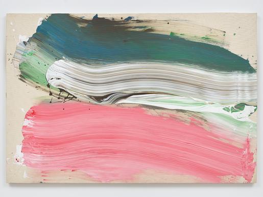 Ed Clark Untitled 2009 acrylic on canvas 50 1/8 x...