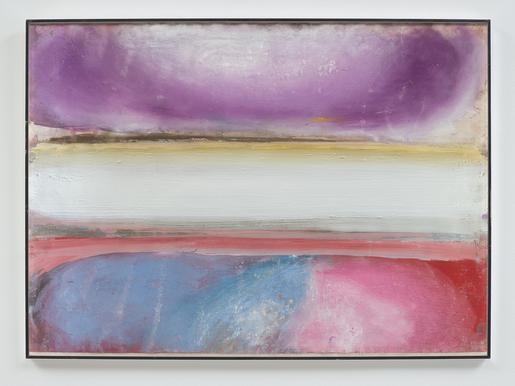 Ed Clark Untitled (Bahia Series) 1988 acrylic and...
