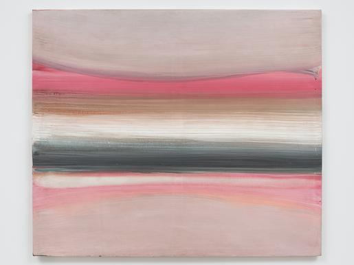 Ed Clark Untitled (Paris Series) 1983 acrylic on c...