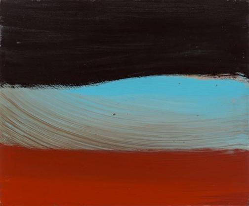 Ed Clark Untitled 1994 acrylic on canvas 20 x 24 i...