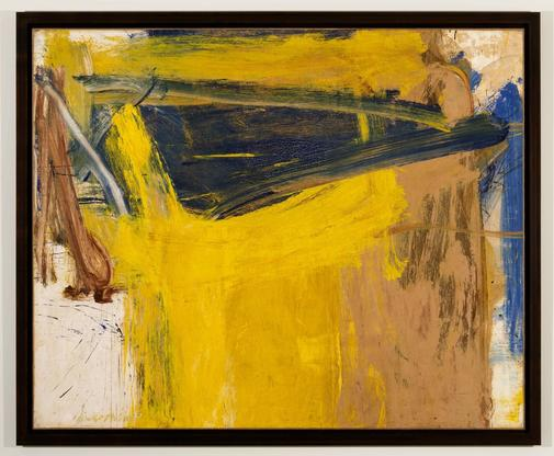 Willem de Kooning Forest of Zogbaum 1958 oil on pa...