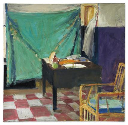 Richard Diebenkorn Corner of Studio 1961 oil on ca...