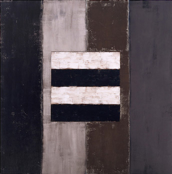 Sean Scully Four Four 1987-88 oil on canvas 60 x 6...