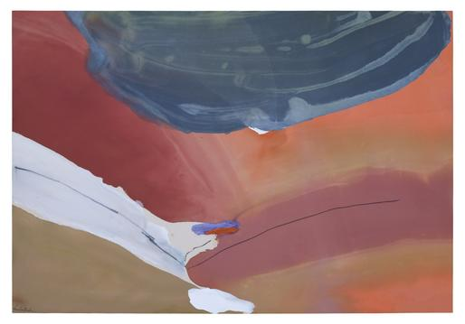 Helen Frankenthaler Avebury 1972 acrylic on canvas...