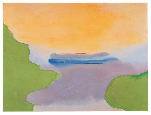 Helen Frankenthaler Corniche 1974 acrylic on canva...