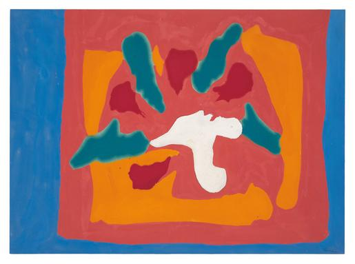 Helen Frankenthaler Pompeii 1965 acrylic on canvas...