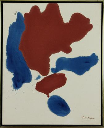 Helen Frankenthaler Storm 1963 acrylic on canvas 2...