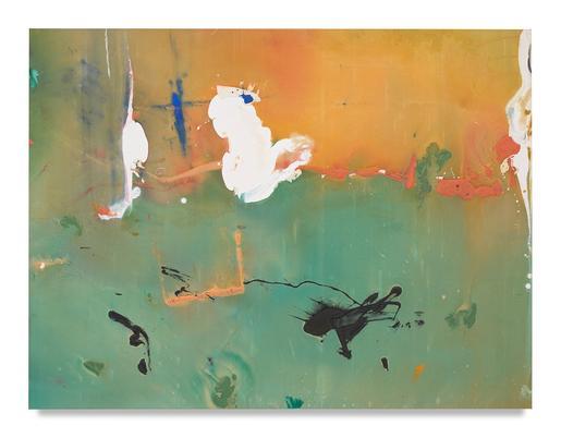 Helen Frankenthaler White Joy 1981 acrylic on canv...