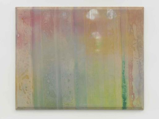 Sam Gilliam Misty 1969 acrylic and dye pigments on...