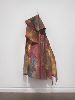 Sam Gilliam Patch 1970 acrylic on draped canvas ca...