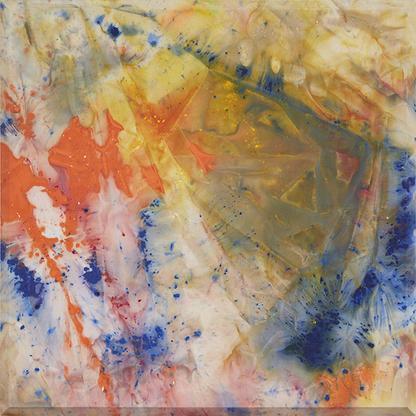 Sam Gilliam Spring Thaw 1972 acrylic on canvas wit...
