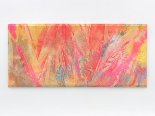 Sam Gilliam Temple Fire 1970 acrylic on canvas wit...