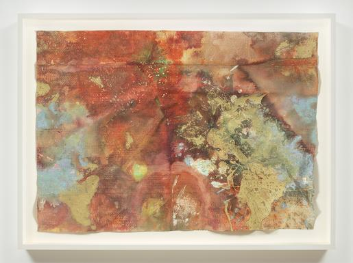 Sam Gilliam Untitled ca. 1973 oil on polypropylene...