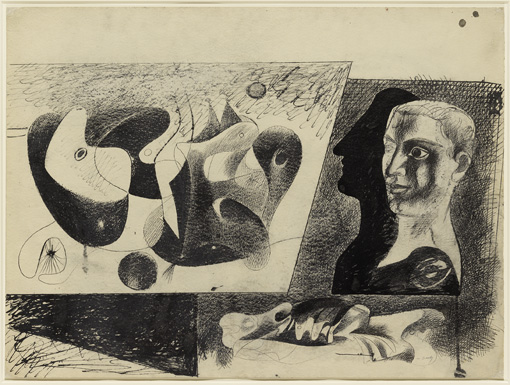 Arshile Gorky Untitled (Nighttime, Enigma & Nostal...