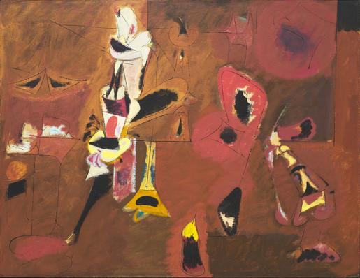 Arshile Gorky Agony 1947 oil on canvas 40 x 50 1/2...
