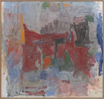 Philip Guston Branch 1956-58 oil on canvas 71 7/8...