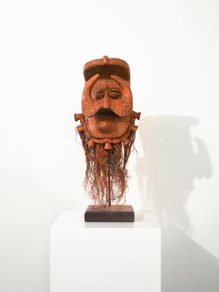 David Hammons Orange is the New Black 2015 wood, m...