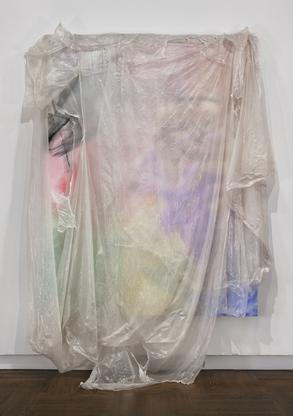 David Hammons Untitled 2010 acrylic on canvas, tar...