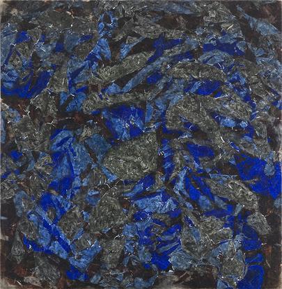 Simon Hantaï, Peinture, c. 1964, oil on canva...