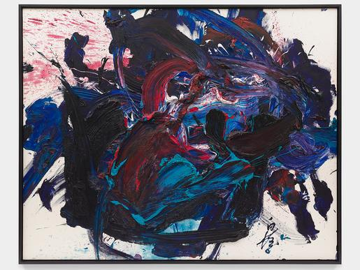 Hoshokai [Lop Nur] 1988 oil on canvas 71 1/8 x 89...