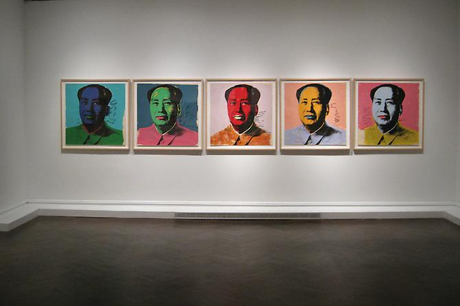 July 28 - September 3, 2009 - Marilyn Monroe, Mao, Electric Chairs, Campbell's Soup - Warhol Print Portfolios: - Exhibitions