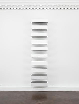 Untitled (Bernstein 89-3), 1989 anodized aluminum...