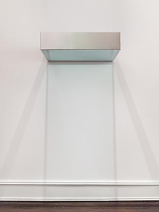 Untitled (DSS 154), 1968 stainless steel and light...
