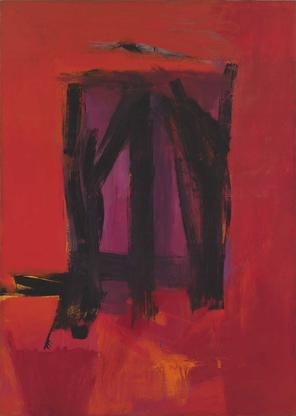 Franz Kline Red Painting 1961 oil on canvas 109 13...