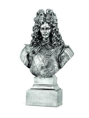 Jeff Koons Louis XIV 1986 stainless steel 46 x 27...