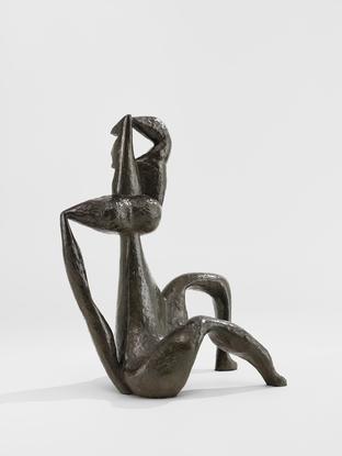 Henri Laurens La Mère 1935 bronze 23 1/4 x...