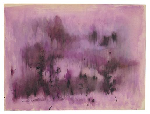 Norman Lewis Untitled (Study in Magenta) 1958 oil...
