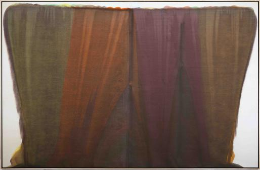 Beth Samach,1958 acrylic resin (Magna) on ca...