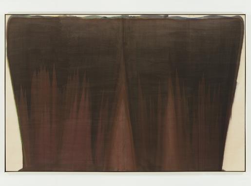 Curtain,1958 acrylic resin (Magna) on canvas...