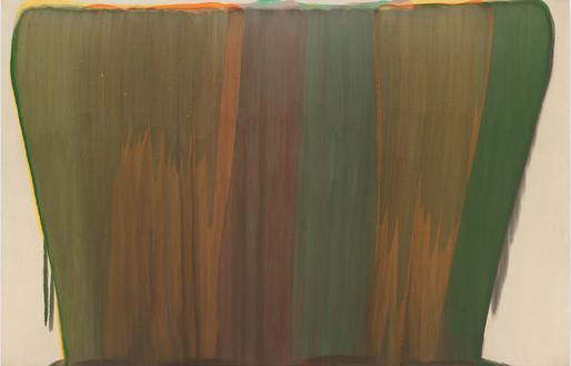 Morris Louis,Tzadik,1958 acrylic resin...