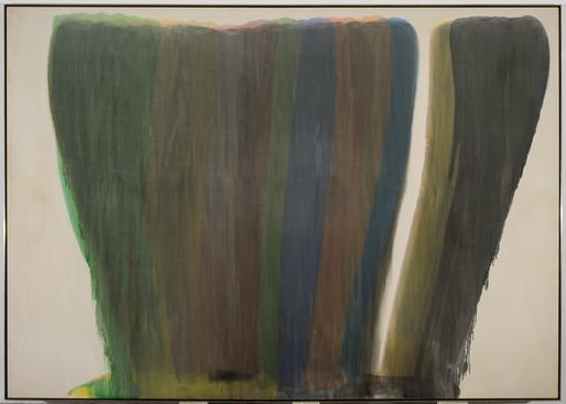Untitled,1958-9 acrylic resin (Magna) on can...