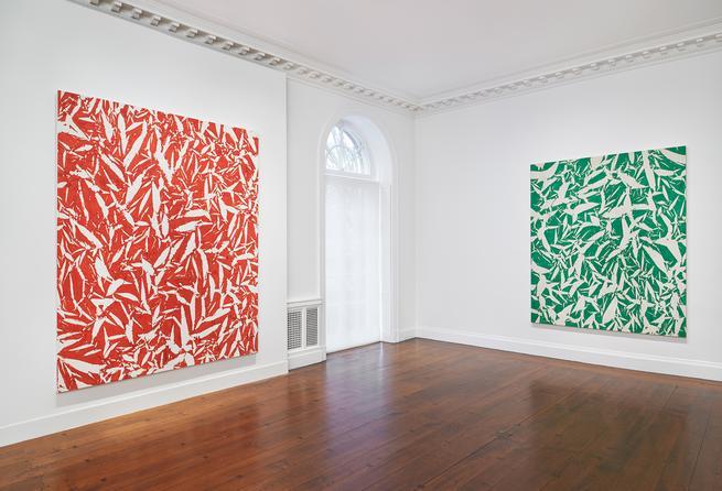 April 28 - June 26, 2015 - Pliage: The First Decade - Simon Hantaï - Exhibitions